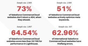 Salesforce Commerce Cloud websites report